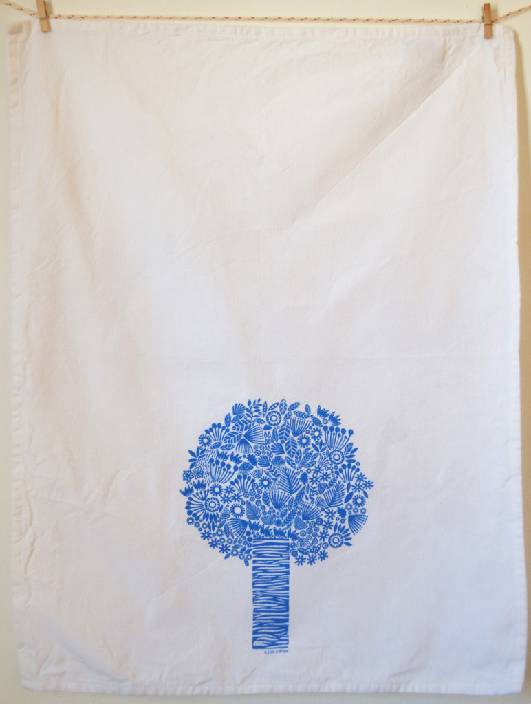 tree towel